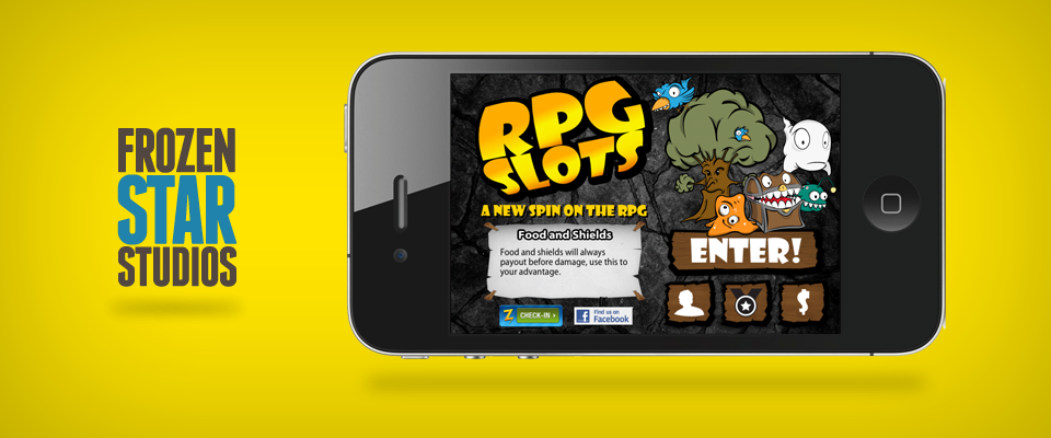 Watkins Auto Sales >> RPG Slots iPhone Game UI + Design with Frozen Star Games