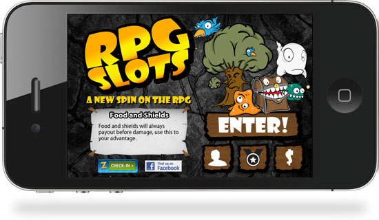 Rpg Slots Iphone Game Ui Design With Frozen Star Games