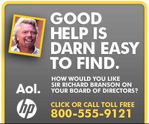AOL HP Ad
